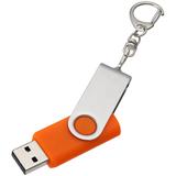 Флешка, 8Гб, оранжевая, оранжевый фото