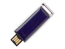 USB-флешка на 16 Гб Zoom, тёмно-синяя фото