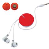 Устройство для скручивания наушников с креплением на магните, красный фото