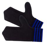 Варежки Best, черно-синие фото
