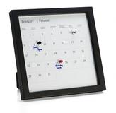 Вечный календарь Appointment, черный фото