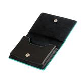 Визитница для своих визиток, натуральная кожа, Everest, 100 х 75 мм, черный фото
