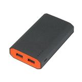 Внешний аккумулятор, Stone Island PB, 7800 mAh, т.-серый/оранжевый, подарочная упаковка фото