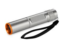 Водонепроницаемый фонарик, серебряный/серый, оранжевый фото