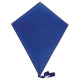 Воздушный змей РОМБ, 70*60 см, полиэстер, синий фото