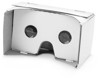 Очки вертуальной реальности Veracity, белые фото