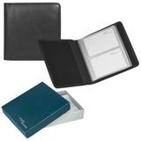 Визитница Парма на 60 визиток в подарочной упаковке, черный фото