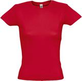 Женская футболка MISS 150, красная фото