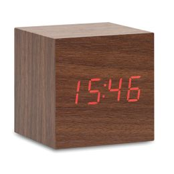 ЖК часы из МДФ, бежевый фото