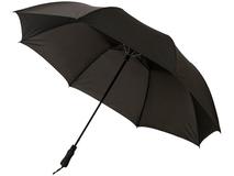 Зонт складной полуавтомат Argon 30, черный фото