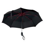 Зонт, красный фото