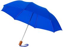 Зонт складной Oho, синий фото