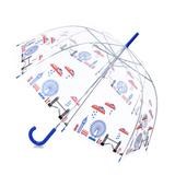 Зонты прозрачные с индивидуальной печатью под заказ фото