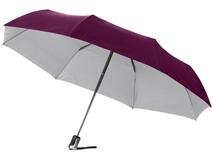 Зонт складной Alex, бордовый фото