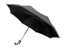 Зонт складной Alex, черный фото