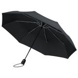 Зонт складной автомат Fare AOC Mini, 3 сложения, черный фото