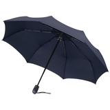 Зонт складной E.200, темно-синий фото