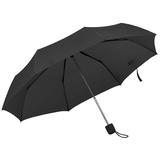 Зонт складной механический Foldi, черный фото