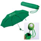 Зонт складной механический Foldi, зеленый фото
