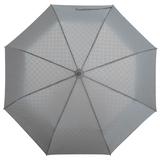 Зонт складной автоматический Hard Work, серый фото