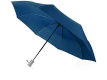 Зонт складной Леньяно, синий фото