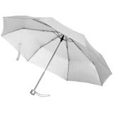 Зонт складной Silverlake, серебристый фото