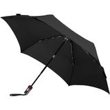 Зонт складной TS220 с безопасным механизмом, черный фото