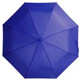 Зонт складной механический Unit Basic, синий фото