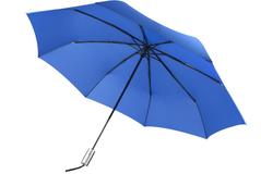 Зонт складной Unit Fiber, ярко-синий фото