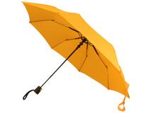 Зонт складной Wali, желтый фото