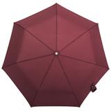 Зонт складной автоматический 3 сложения TAKE IT DUO, бордовый фото