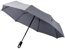 Зонт складной полуавтомат Traveler, серый фото