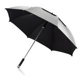 "Зонт-трость антишторм Hurricane 27"" , серый фото"