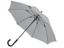 Зонт-трость Bergen, серый фото