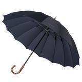 Зонт трость ручной Big Boss, темно-синий фото