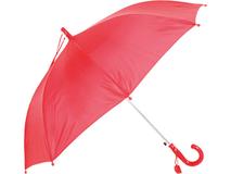 Зонт-трость Эрин со свистком, красный фото