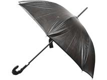 Зонт-трость, чёрный фото