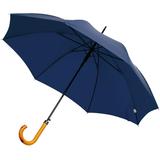 Зонт-трость LockWood, темно-синий фото