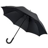 Зонт трость полуавтомат Sport, черный фото