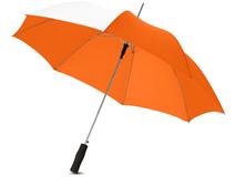 Зонт трость полуавтомат Tonya, белый/ оранжевый фото