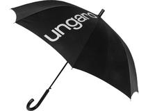 Зонт трость механический Ungaro, черный фото