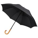 Зонт трость полуавтомат Unit Classic, черный фото