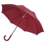 Зонт трость полуавтомат Unit Promo, бордовый фото