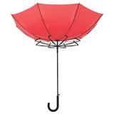 Зонт трость антишторм полуавтомат Unit Wind, красный фото