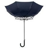 Зонт трость антишторм полуавтомат Unit Wind, синий фото