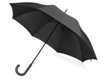 Зонт трость антишторм механический Wind, черный фото