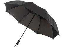 Зонт складной полуавтомат Victor, черный фото