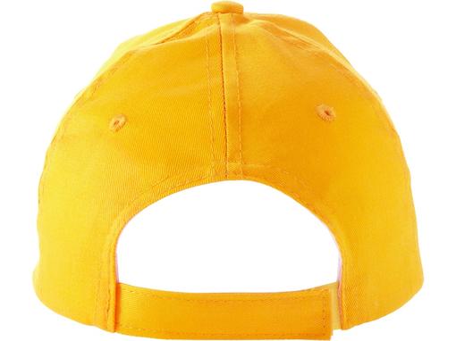 Бейсболка Memphis C 5 клиньев, желтый фото