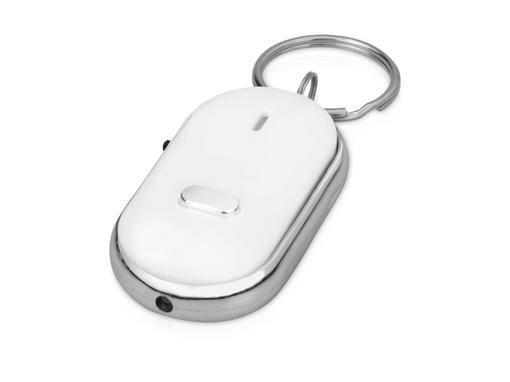 Брелок - фонарик с функцией поиска, белый фото