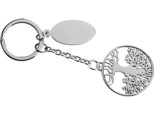 Брелок Дерево жизни, серебряный фото